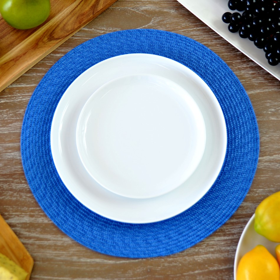 Round Placemat Available in Various Colours