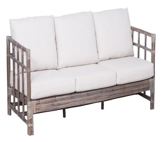 2 Seater Rattan Sofa