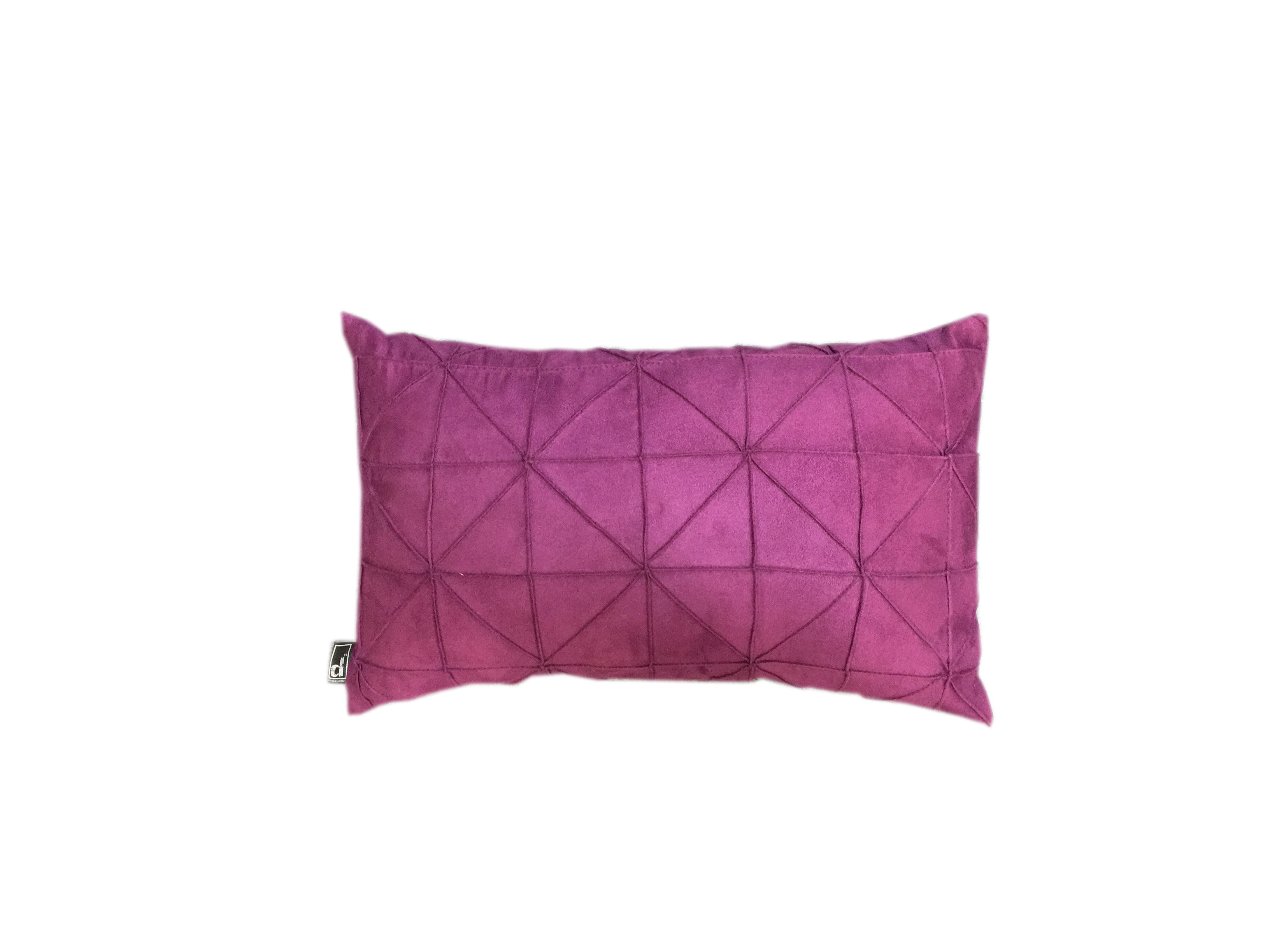 30x50 Oblong Cushion - Textured Triangles