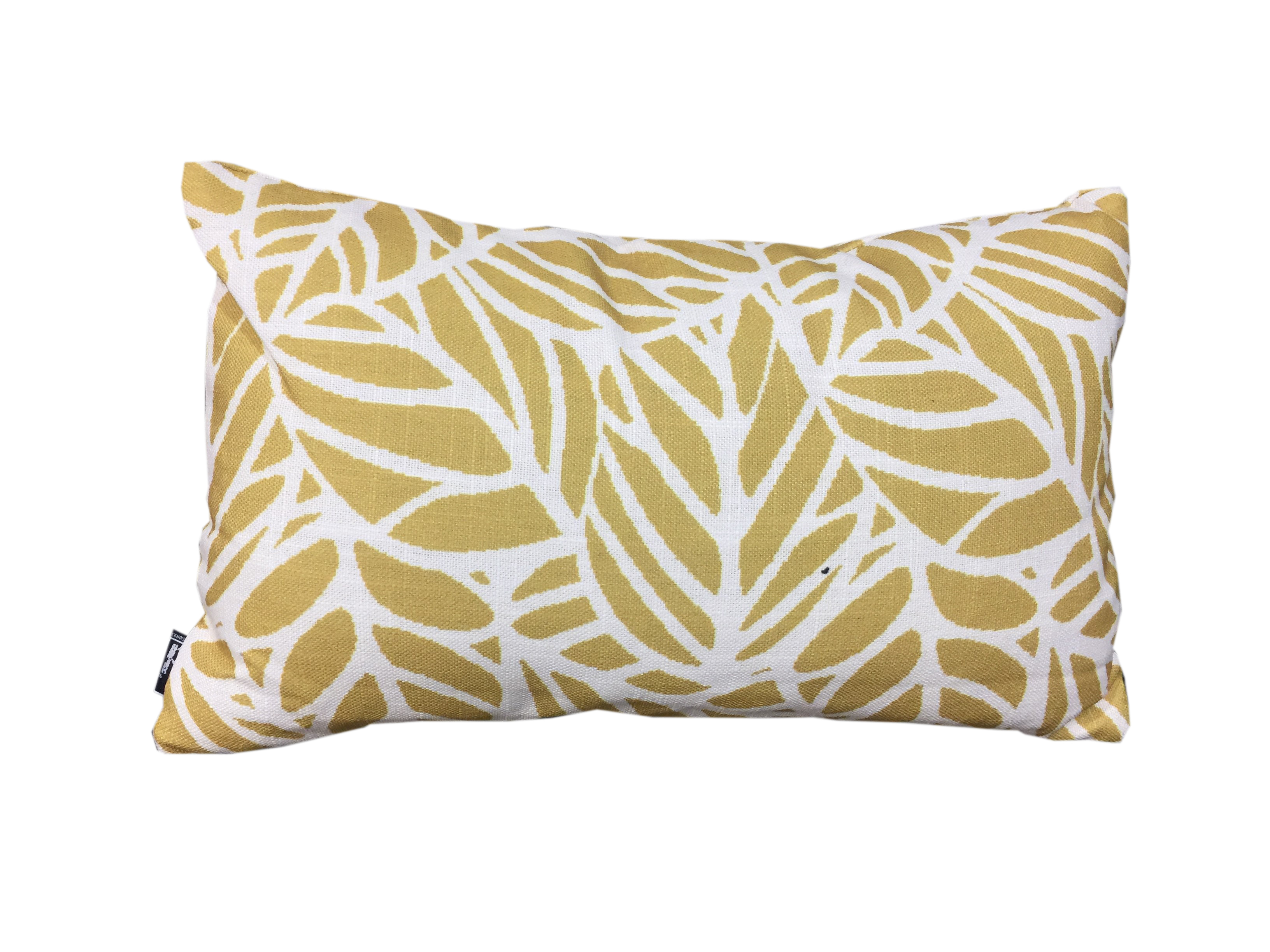 30 x 50 Oblong Cushion - Twig Leaf