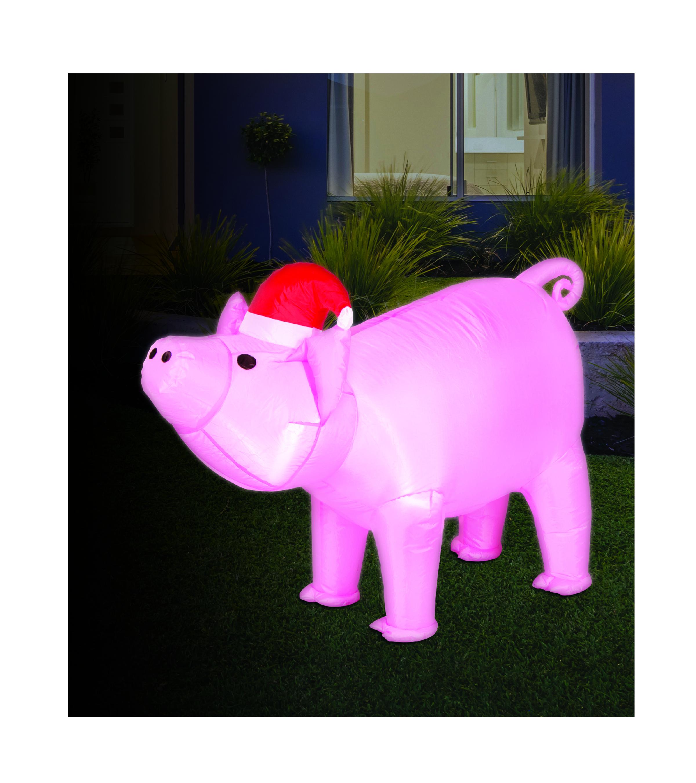 Airpower santa pig