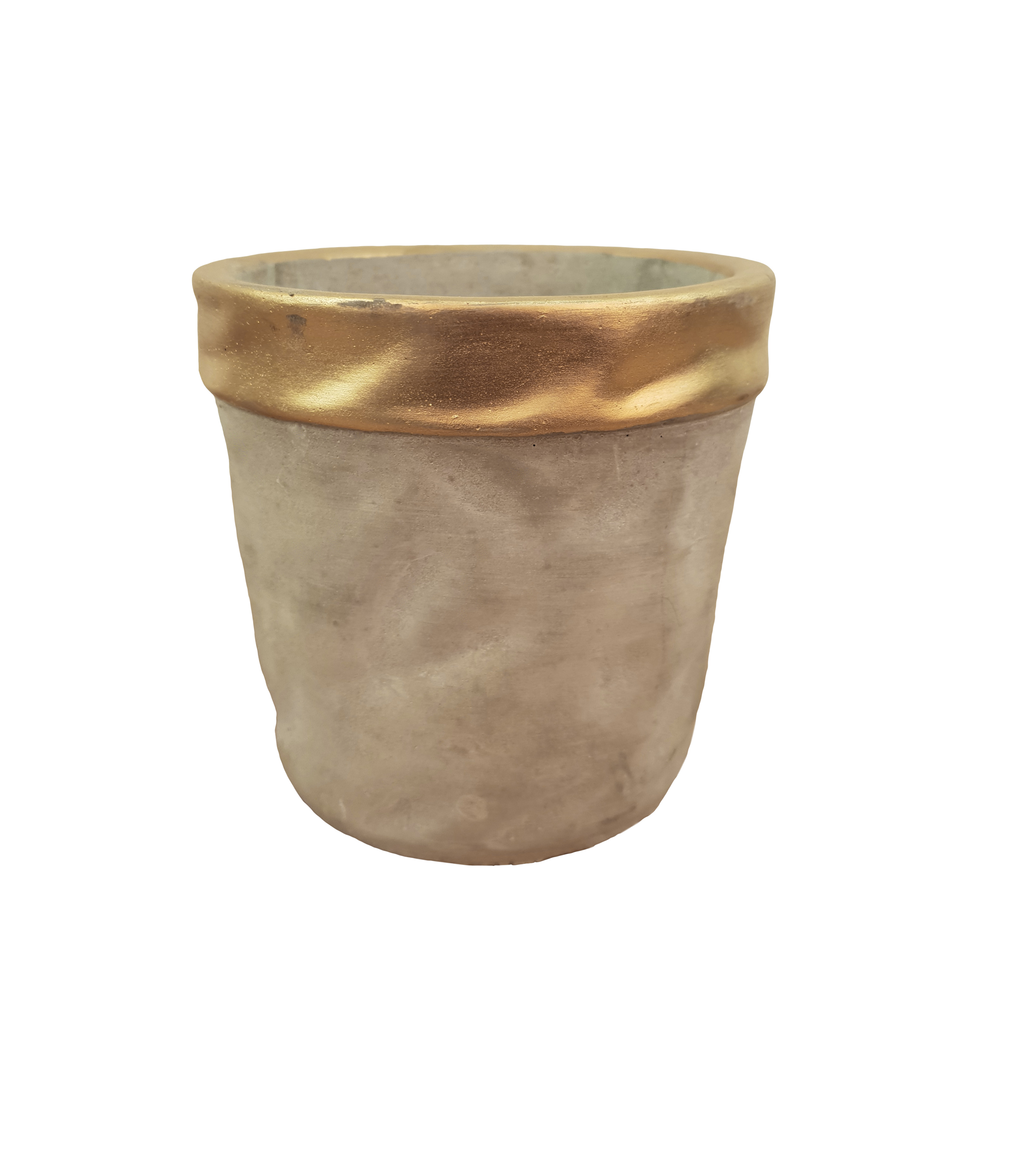 'Aurum edge' pot