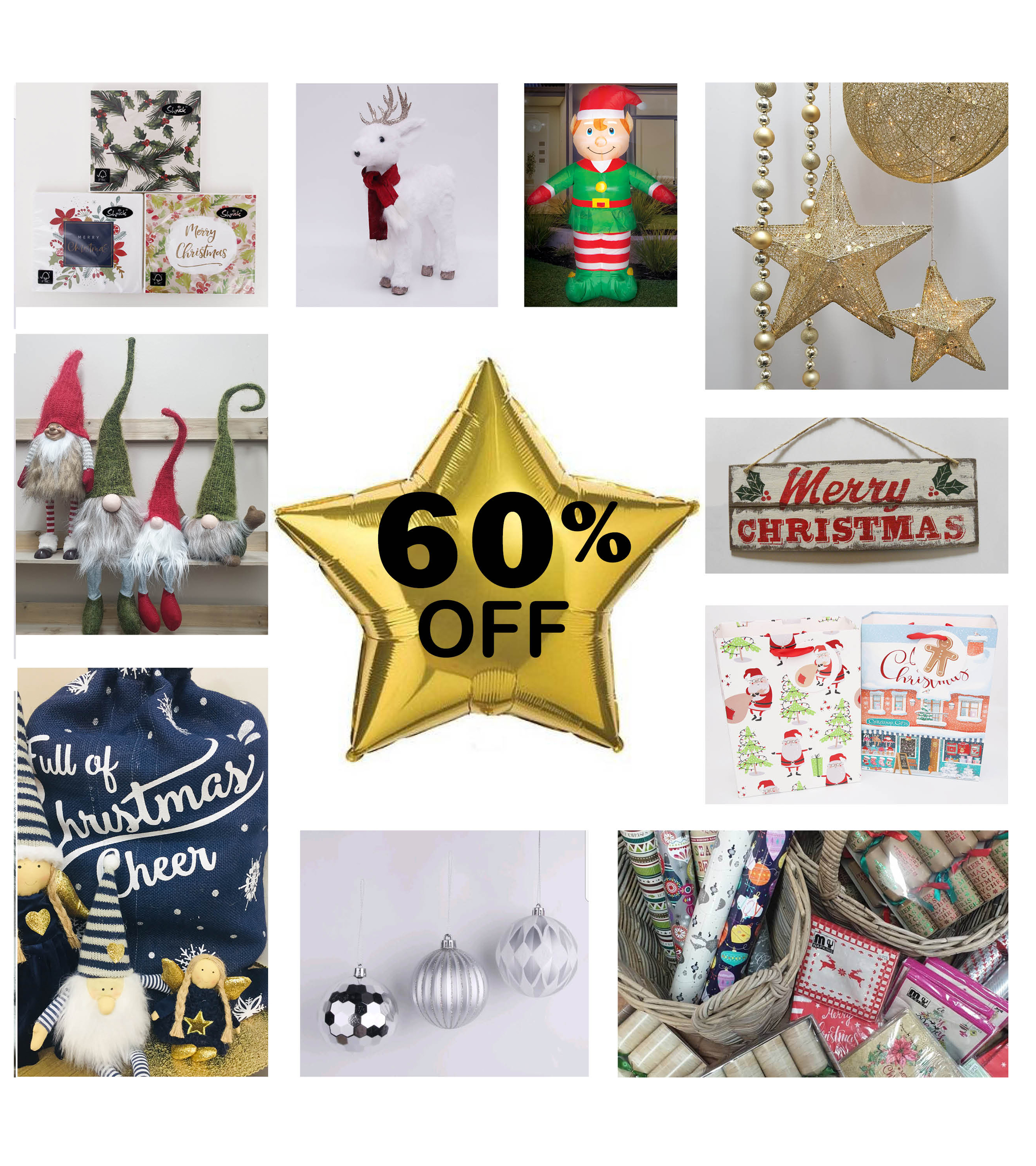 60% OFF CHRISTMAS