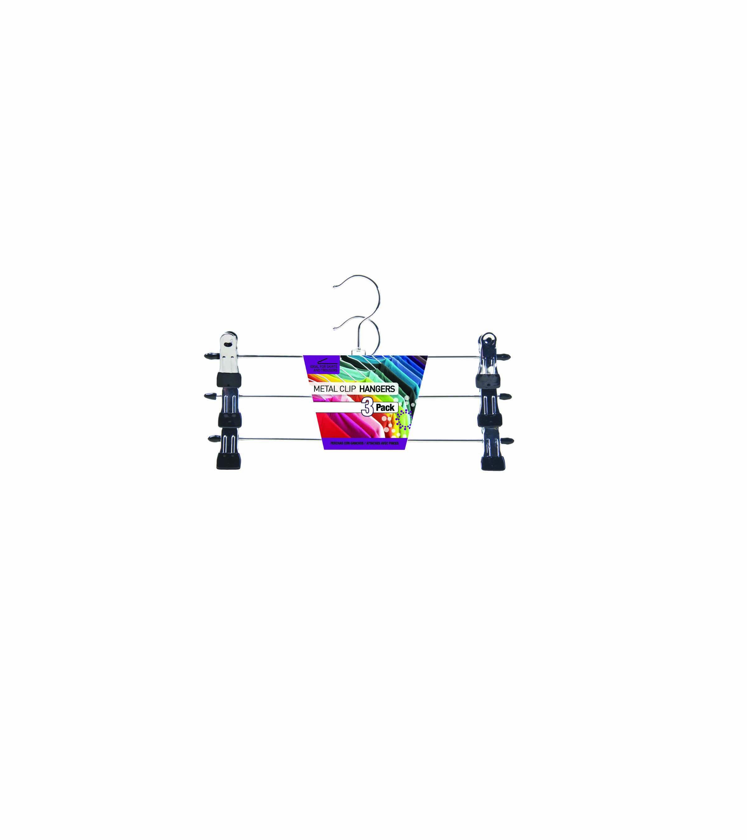 Clip hangers 3pk