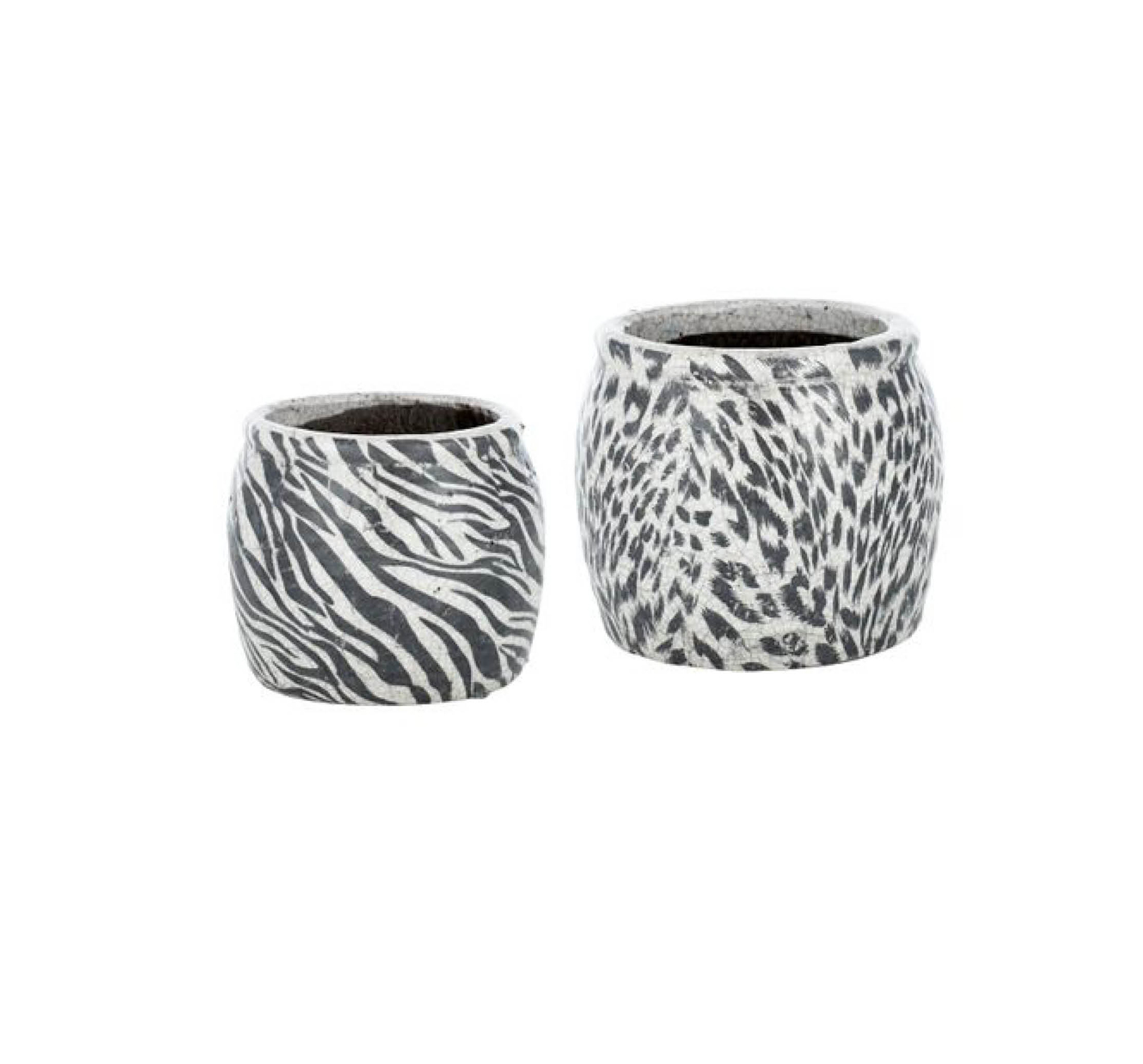 'Animal' pots from